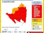 13 kabupaten/Kota di Lampung Berstatus Zona Merah
