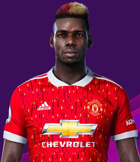 PES 2020 Faces Paul Pogba by Makidan14