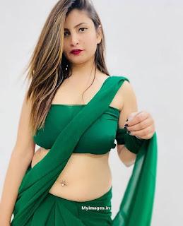 indian girl in saree navel photo Navel Queens