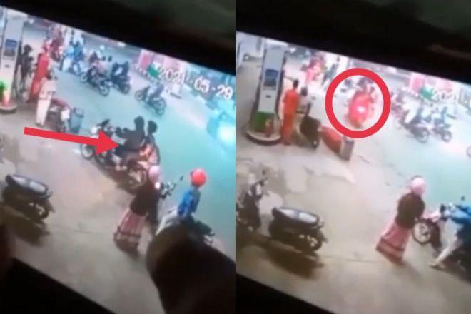 Aksi Penikaman di SPBU Bone, Pelaku Pura-pura Isi Bensin