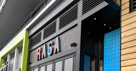 A 6th Grader's Restaurant Review : Rasa Restaurant at DC's Navy Yard - ational's Park Neighborhood