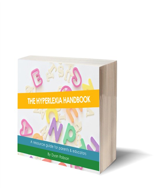 The Hyperlexia Handbook {free eBook} - a resource guide for parents & educators