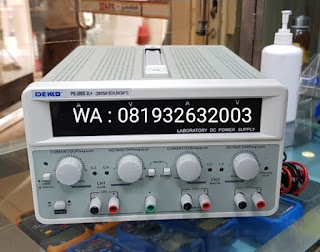 Darmatek Jual DEKKO PS-3005 3L+ DC Power Supply - 30 Volt 5 Ampere