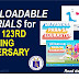 DEPED 123RD FOUNDING ANNIVERSARY DOWNLOADABLE MATERIALS