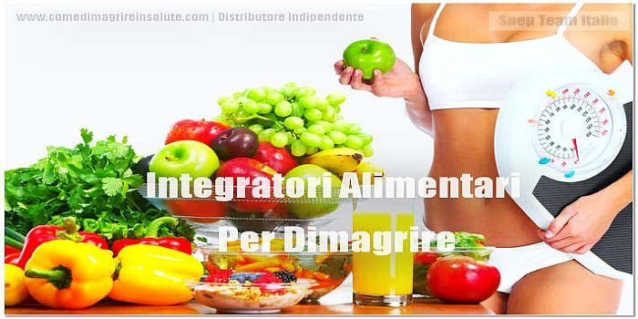 integratore alimentari per dimagrire