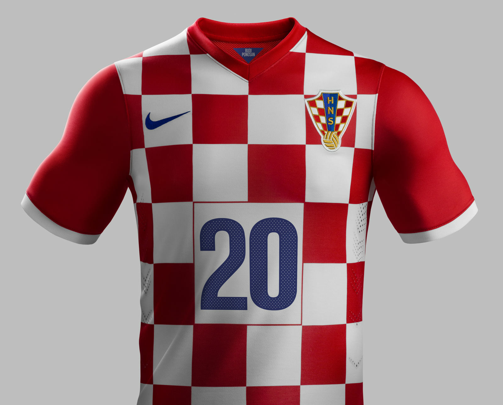 croatia 2014 world cup home and away kits released footy