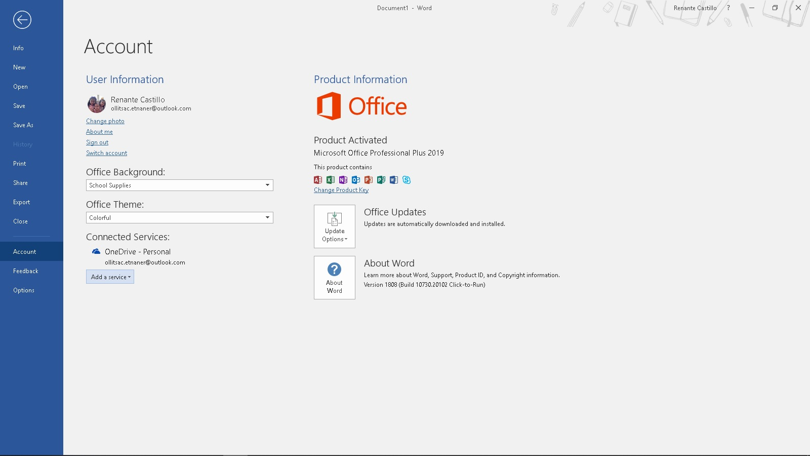 Activating Microsoft Office 2019 without Product Key or