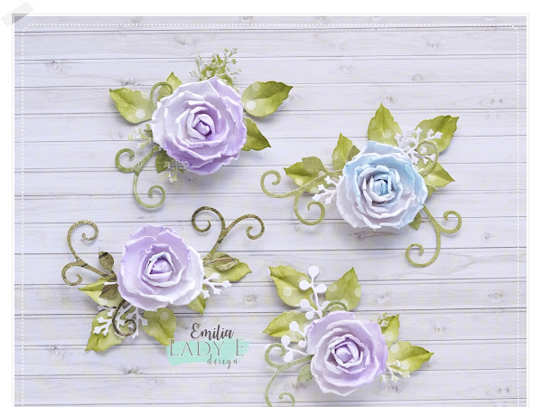 4 Flower Arrangements for Cards