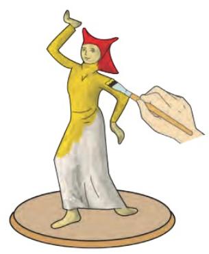 Cara Membuat Patung dari Kertas www.simplenews.me