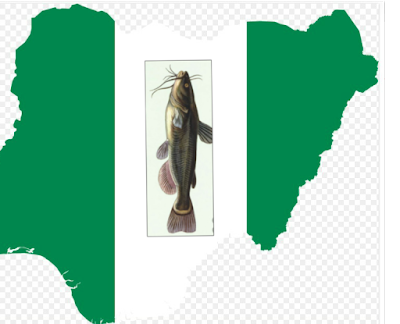 """alt = """"picture of Nigerian map with fish"""""""