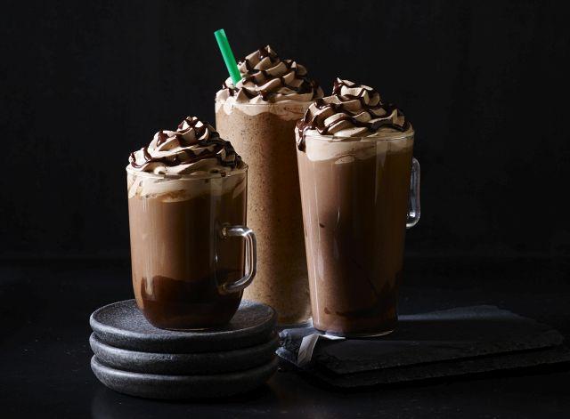 Starbucks brings back their trio of extra-chocolaty Molten Chocolate ...