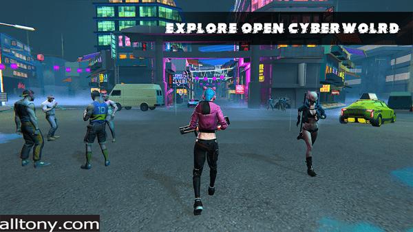 تنزيل لعبة Cyberworld Online:RPG للأندرويد APK