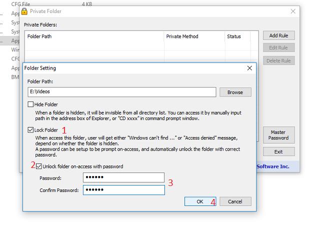 Cara mengunci Folder pada PC/Laptop