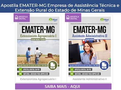 Apostila Emater (MG) Extensionista Agropecuário I