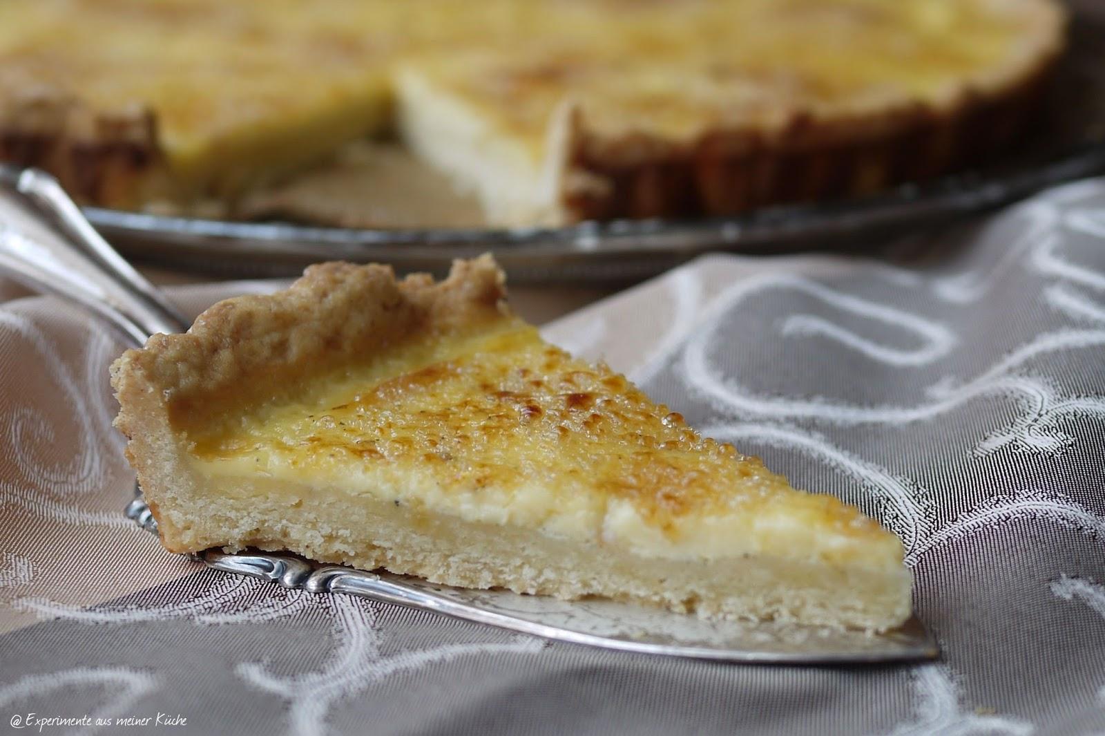 Experimente aus meiner Küche: Creme Brûlée Tarte