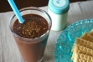 chocolate peanut butter hot cocoa, kakao amerykańskie