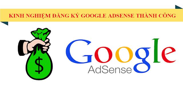 Cách đăng ký Google Adsense website thành công 100% (2020)