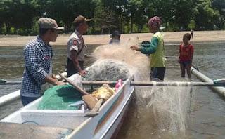 Kapolsek Kilo IPTU Rodolfo M. De Araujo menghimbau kepada para Nelayan