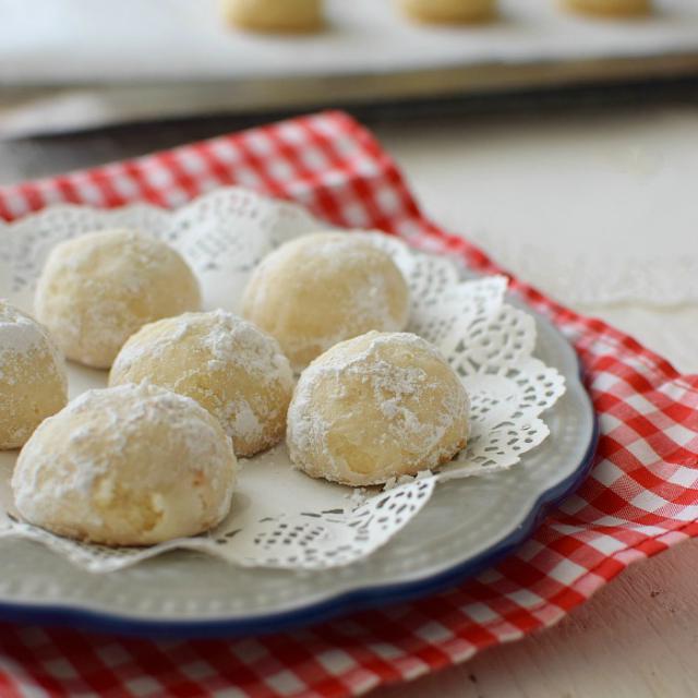 Galletas polvorosas de coco