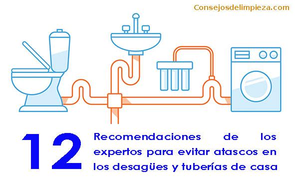 Baños y tuberías internas de casa