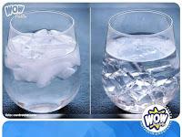Cara Membedakan Es Batu Air Matang atau Mentah yang Ternyata Hoax