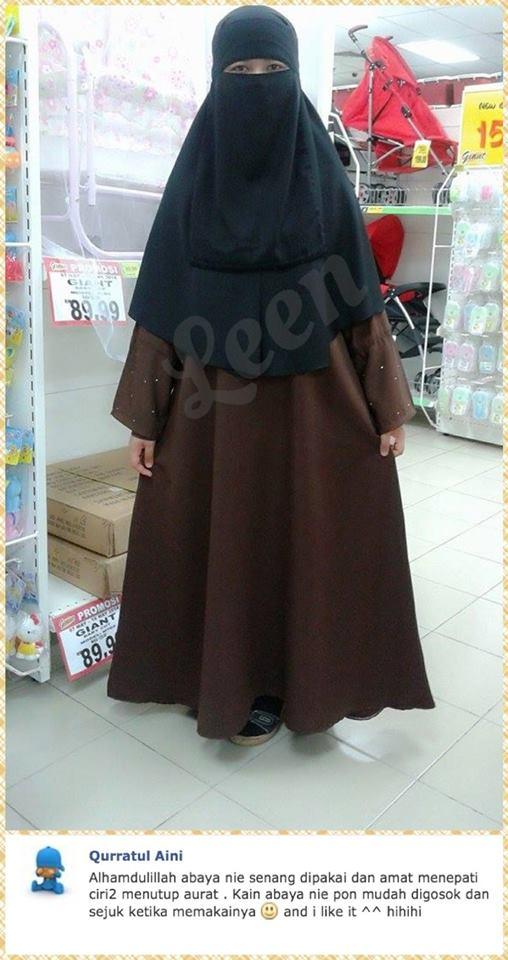 testimoni abaya leen, jubah abaya, abaya cantik, abaya murah, leen enterprise, jubah cantik, jubah murah, abaya mampu milik