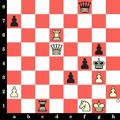 Les Blancs jouent et matent en 4 coups - Igor Glek vs A Korolev, corr., 1988
