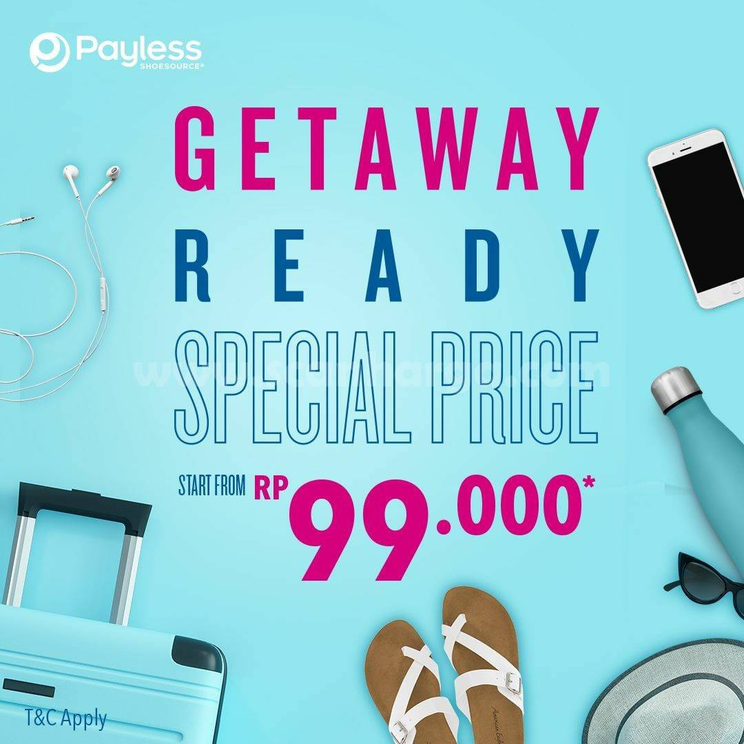 Payless Promo Special Price Start From Rp 99,000*