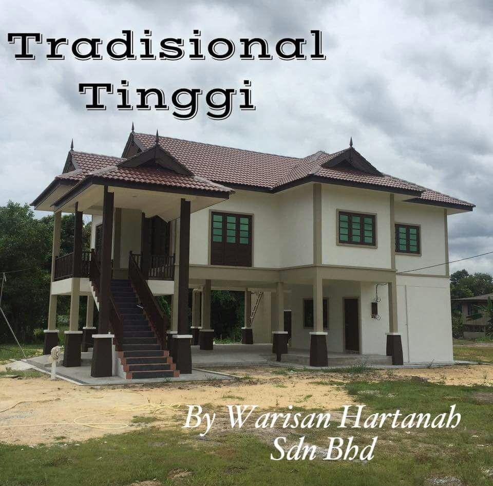 BINA BANGLO IDAMAN 13 CONTOH RUMAH BERTIANG TINGGI