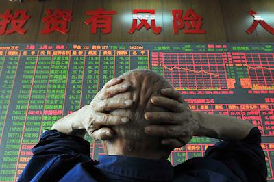 Китайские рынки обрушились на обострениях отношений с США