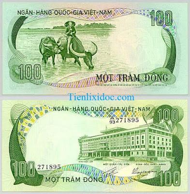 100 đồng việt nam cộng hòa 1972