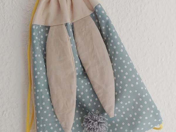 #Tuto : Un sac à dos Lapin