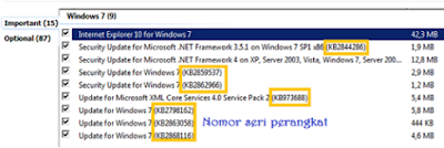 cara update windows 7 online