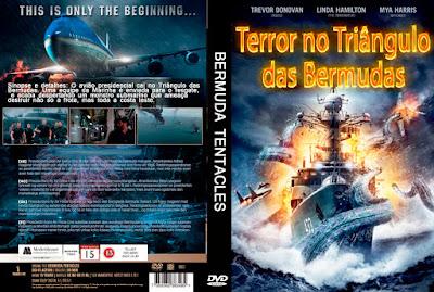 Filme Terror no Triângulo das Bermudas DVD Capa