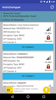Hack wifi password using andro dumpper.