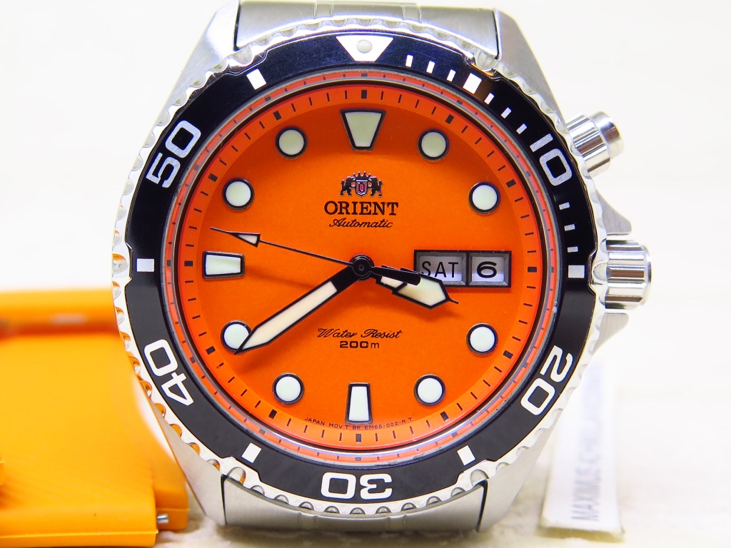 ORIENT DIVER 200m MAKO ORANGE DIAL - AUTOMATIC