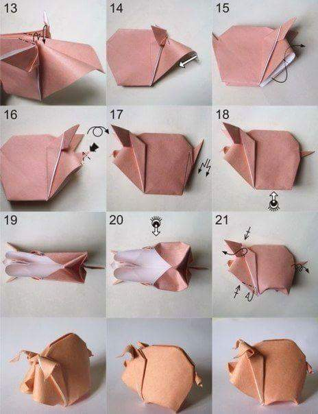 Berbagai Jenis Origami Binatang Kerajinan Tangan Lipat ...