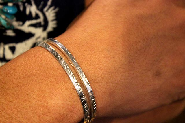 silverbangleシルバーバングルnavajoナバホ族indianjewelryインディアンジュエリー