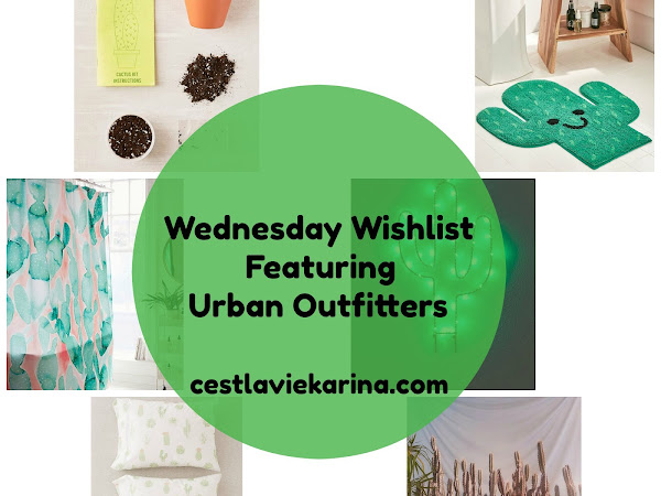 WEDNESDAY WISHLIST FEATURING URBAN OUTFITTERS