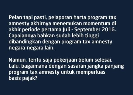 keberhasilan tax amnesty periode pertama