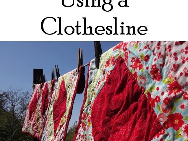Grandma's Tips for Using a Clothesline
