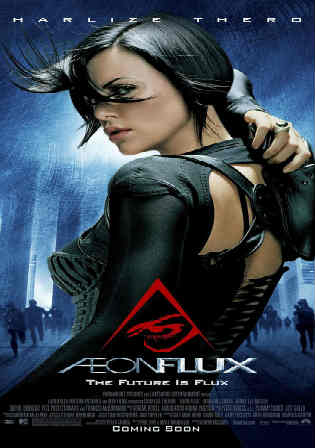 Aeon Flux 2005 BRRip 300MB Hindi Dual Audio 480p Watch Online Full Movie Download bolly4u