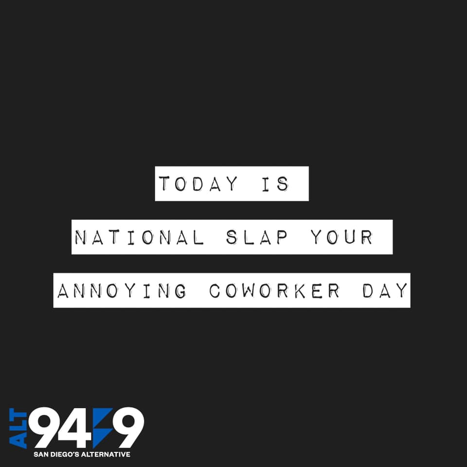 Slap Your Annoying Coworker Day Wishes