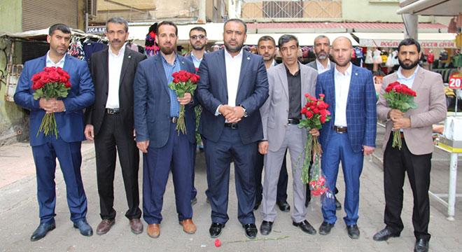 HÜDA PAR Diyarbakır Bağlar'da 1 yılda 3 bin esnafı ziyaret etti
