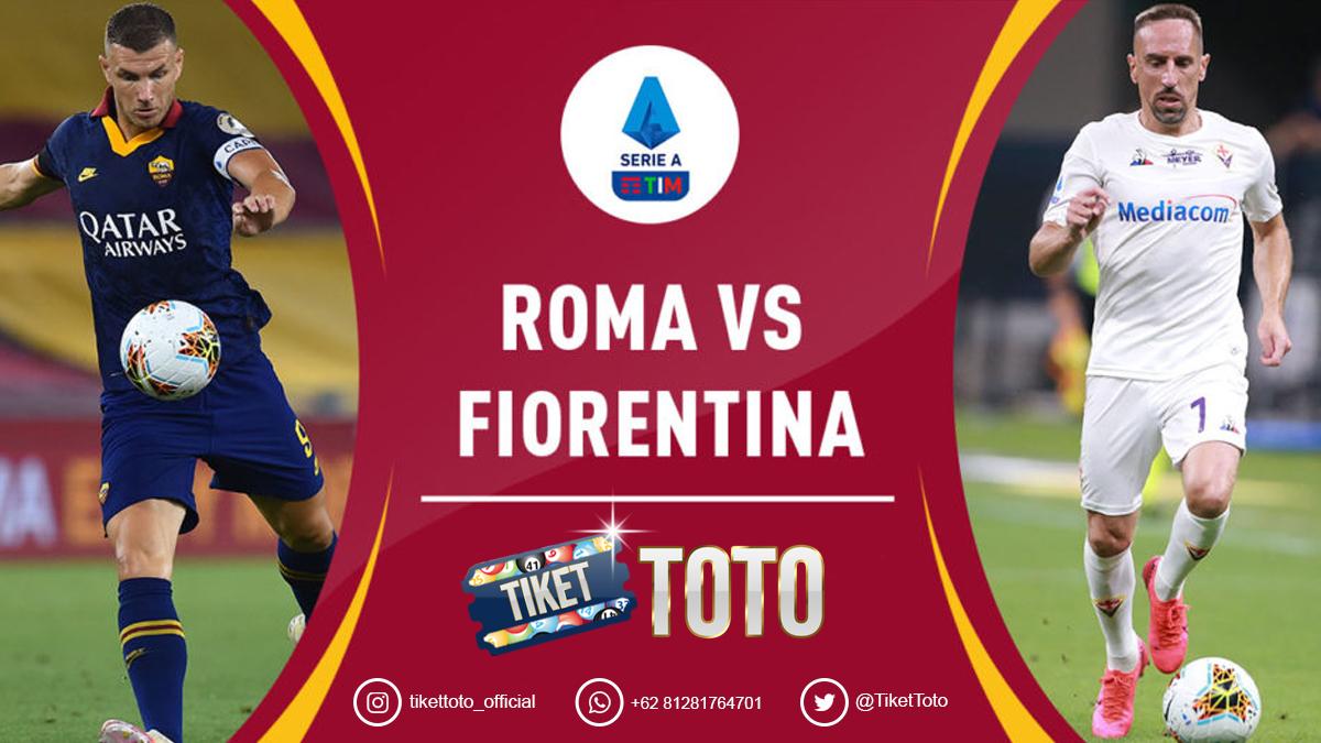 Roma Vs Fiorentina: Giallorossi Menang 2-1