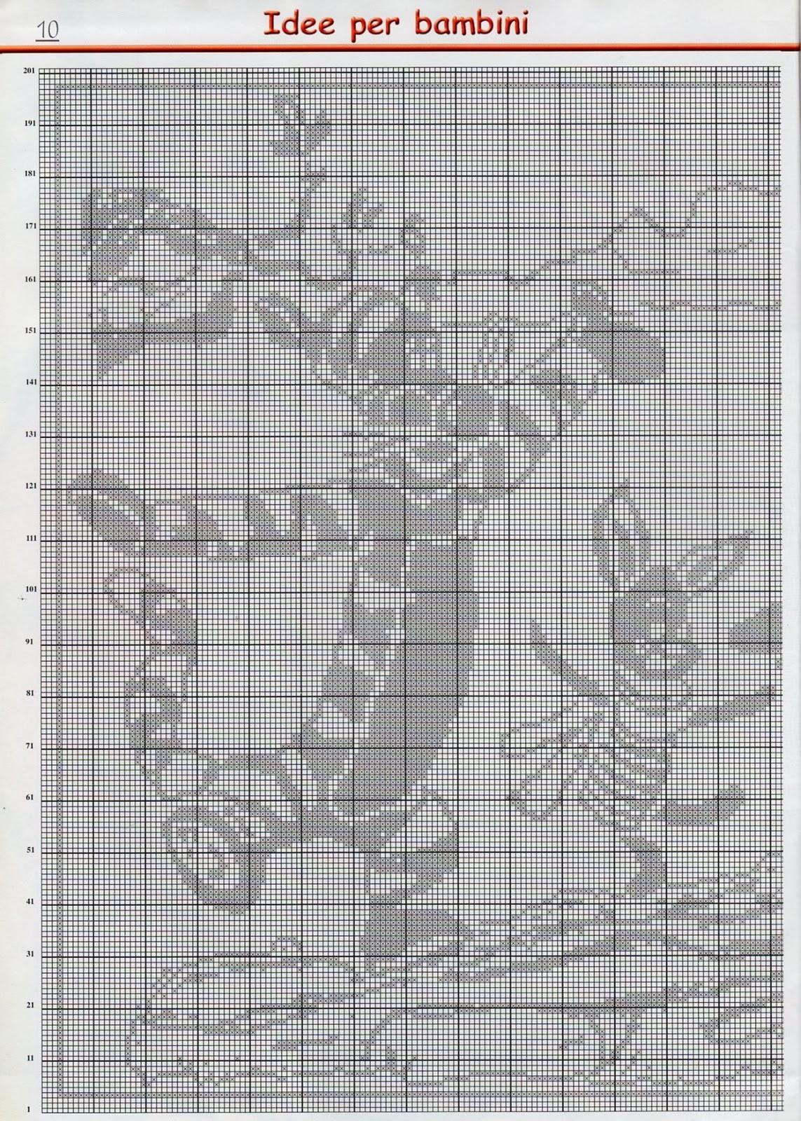 Top lo spazio di lilla: Schemi a filet per i bimbi: Winnie the Pooh  SV44