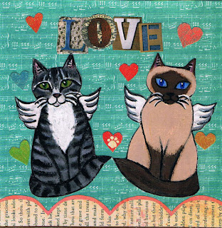 Love Kitties Handmade Card