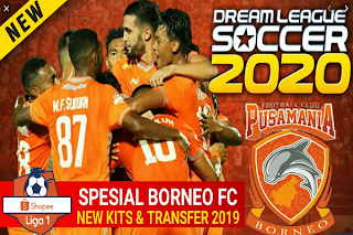DLS Spesial Borneo FC Shopee Liga 1 2019/2020
