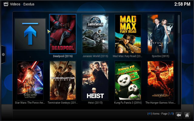 Welcome to Exodus Movies Kodi
