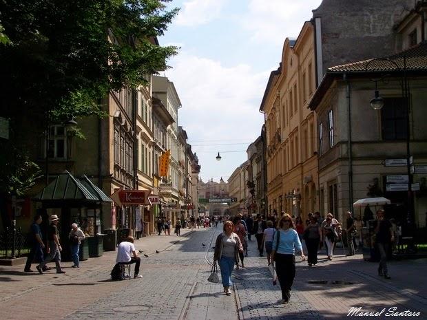 Cracovia, Ulica Florianska